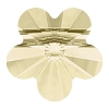 Swarovski 5744 Flower Bead 6mm Jonquil